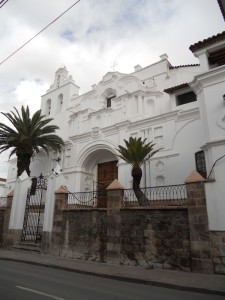style of many of the buildings in sucre